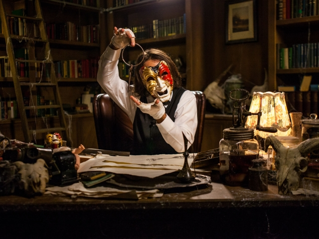 The Mansion – Escape Room Horror Nights 2016